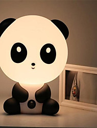 muito bonito urso panda dos desenhos animados animais noite luz do quarto do bebê da lâmpada lâmpada noite quarto mesa de luz dormir