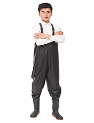 pvc esteiras de grãos wader preto roupa pesca indústria do vestuário de pesca
