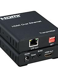 HDMI preko Ethernet HDMI produživač 120meter preko jednog RJ45 CAT5 / 6 kabela više Više HDMI produživač matrice 1080p s IR