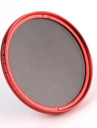 fotga® 77mm fotoaparátu fader variabilní nd šedý filtr ND2 ND8 na nd400 červená