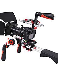 yelangu dslr film video maken rig set-systeem kit voor camcorder of dslr camera zoals canon nikon sony pentax fujifilm panasonic