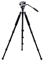 professionele camera statief met video hoofd aluminium video statief nt-767
