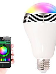 bl-05 alto-falantes sem fio Bluetooth 4.0 LED RGB bulbo cor mudando alto-falante inteligente levou luz para iOS / Android / tablet
