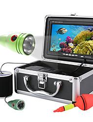 Horská 50m 1000tvl podvodní rybářská videokamera 6 ks led světla s 7 palcovým barevným monitorem
