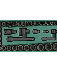 Conjunto de ferramentas sata 36 peças de manga pneumática padrão 09914