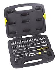 Stanley® 91-934-22 Ensemble d'outils professionnel de maison 46pc avec boîte à outils