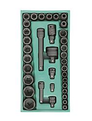 Sata luva pneumática 36 peças 09914 conjunto de ferramentas manual