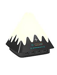 Cor do cubo da carga da lâmpada da cena mudada agitando a lâmpada do handmood