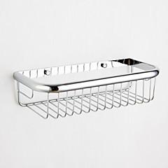 moderne krom vægmonteret sæbe kurv installaionsproces hul afstand 18cm