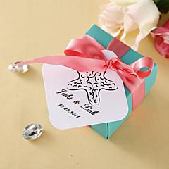 Tag quadrados personalizados - Starfish (conjunto de 36)