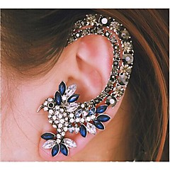 Žene Uho Manžete luksuzni nakit Moda kostim nakit Umjetno drago kamenje Legura Animal Shape Ptica Jewelry Za Vjenčanje Party Dnevno