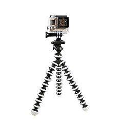 Trépied flexible Trépied Octopus Multifonction Taille moyenne Pour Gopro 5 Gopro 4 Gopro 3 Gopro 2 Gopro 3+ Gopro 1 Autres Universel