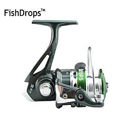 סליל מסתובב / גלילי דיג סלילי טווייה 5.5:1 7 מיסבים כדוריים ניתן להחלפה / ימינים / איטרדיג בים / הטלת פיתיון / דיג קרח / Spinning / דיג