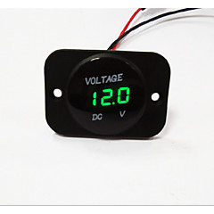 Lossmann auto motorfiets geleid digitale display voltmeter waterdicht