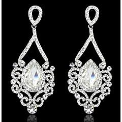 Pendentif d'oreille en forme de lustre Boucle Zircon Multi-Stone / Cristal Femme