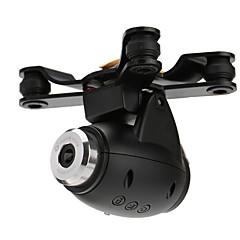 WLtoys / XK X380 WLtoys Support / Appareil photo / vidéo / Pièces & Accessoires RC Quadrirotor / RC Airplanes / Hélicoptères RC Noir