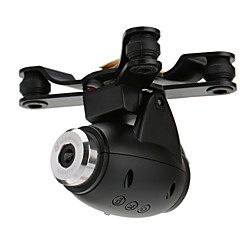 WLToys / XK X380 WLToys dijelovi oprema / Kardanom / Kamera / Video RC Quadcopters / rc avione / RC Helikopteri Crna