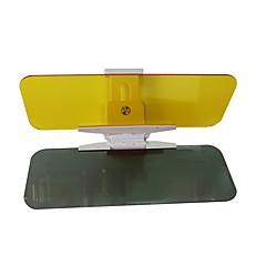 2 pçs 32 * 12 * 0,2 centímetros dia acrílico e noite de dupla utilização do carro pára-sol espelho anti-reflexo