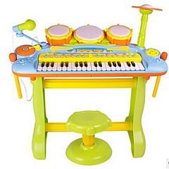 hudební hračka Plast Duhová puzzle Toy hudební hračka