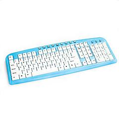 Mit Kabel USB TastaturenForWindows 2000/XP/Vista/7/Mac OS / Android OS