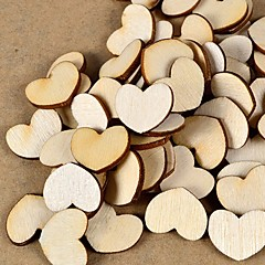 Wood Eco-friendly Material Wedding Decorations-100Piece/Set Spring Summer Fall Winter Non-personalized