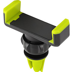 Telefonholderstativ Bil Ventilering 360° Rotation ABS for Mobiltelefon
