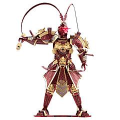 3D - Puzzle Für Geschenk Bausteine Model & Building Toy Metall Rot / Silber / Gold Spielzeuge