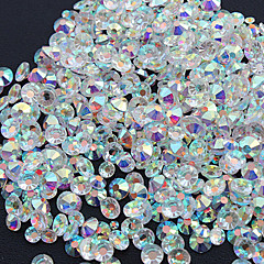 1440pcs Nail Art Decoration tekojalokivi Pearls meikki Kosmeettiset Nail Art Design