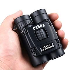 PANDA 22X25 mm Dürbün Yüksek Tanımlama Genel Taşıma Kutusu Çatı Prizma Askeri Spotting Kapsam Genel Kullanım Avlanma Askeri BAK4Powłoka