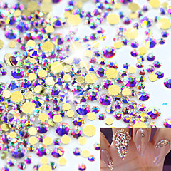 1pack Nail Art Decoration tekojalokivi Pearls meikki Kosmeettiset Nail Art Design