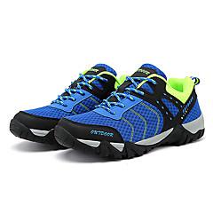 LEIBINDI נעלי ספורט נעלי טיולי הרים נעלי ריצה לגברים נגד החלקה Anti-Shake חסין בפני שחיקה טבע סוליה נמוכה רשת נושמת EVA מחוררריצה ספורט