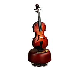 Music Box Hudební nástroje Potřeby na svátky Dřevo Unisex