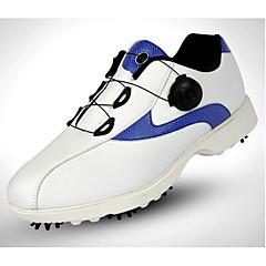 Chaussures de Golf Homme Golf Sport extérieur Utilisation Exercice Sport de détente Style artistique Stylé Cuir pleine-peau Caoutchouc