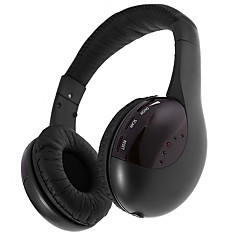 Mh2001 headband fones de ouvido sem fio híbrido plástico pro fone de ouvido de áudio fone de ouvido isolante de ruído