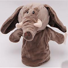 Prstová loutka Slon Bavlněné tkaniny