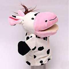 Prstová loutka Cow Bavlněné tkaniny