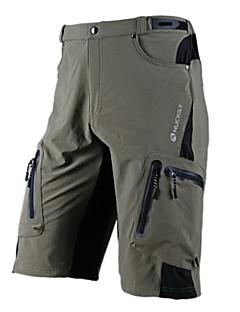 Nuckily Shorts para Ciclismo Homens Moto Shorts Calças Prova-de-Água Secagem Rápida Zíper á Prova-de-Água Vestível Respirável Poliéster