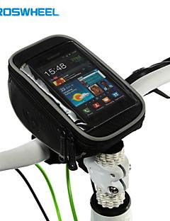 ROSWHEEL® תיק אופניים 1.5Lטלפון נייד תיק / תיקים לכידון האופניים רב תכליתי / מסך מגע תיק אופניים פי וי סי תיק אופנייםSamsung Galaxy S4 /