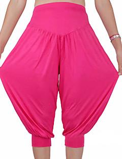 Jóga kalhoty Kalhoty Spodní část oděvu Rychleschnoucí Lehké materiály Natahovací Sportovní oblečení Dámské Jóga Pilates Fitness