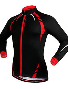 WOSAWE Cyklo bunda Unisex Jezdit na kole Dres sako Vrchní část oděvuZahřívací Větruvzdorné Zateplená podšívka Reflexní pásky