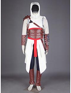 Inspiré par Assassin Altair Vidéo Jeu Costumes de Cosplay Costumes Cosplay MosaïquePantalon Gants Ceinture Sac Manteau Couvre-chaussures