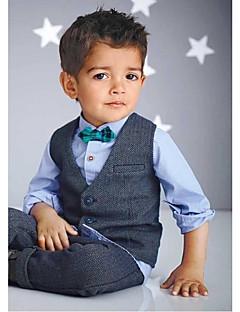 Серебро Хлопок Детский праздничный костюм - 4 Куски Включает в себя