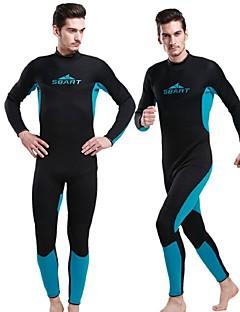 SBART 남성용 3mm 건식 잠수복 다이빙 스킨 전신 잠수복 잠수복 방수 보온 자외선 방지 완전 방수(20.000mm+) 풀 바디 네오프렌 잠수복 긴 소매 다이빙 복 수영복 의류 세트-수영 다이빙 바닷가 파도타기 스노쿨링 봄 여름 겨울 가을
