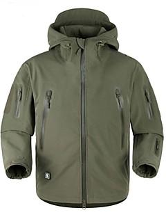 Homens Jaqueta Softshell de Trilha Prova-de-Água A Prova de Vento Vestível Respirável Jaqueta Jaquetas Softshell Blusas para Esqui
