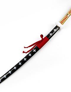 Arma Espada Inspirado por One Piece Trafalgar Law Anime Acessórios para Cosplay Espada Arma Madeira Masculino