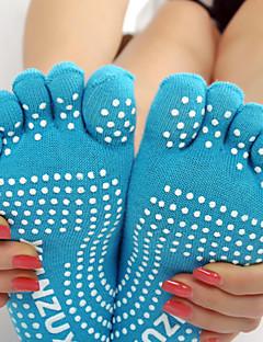 Tå Sokker Anti-Skride Svettereduserende til Yoga & Danse Sko