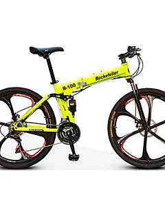 Mountain Bike Vouwfietsen Wielrennen 21 Speed 66.0 cm/700CC Dubbele schijfrem Verende Voorvork Achtervering Normale Staal