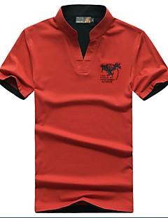 Homens Manga Curta Corrida Camiseta Blusas Respirável Primavera Verão Outono Moda Esportiva Esportes Relaxantes Corrida