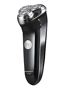 Elektrisk barbermaskin Ansikt Elektrisk Dreibart Hode Rustfritt stål
