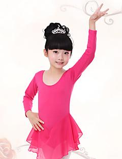 Zullen we ballet jurken kinderen trainen geplooide 1 stuk kid dance costumes